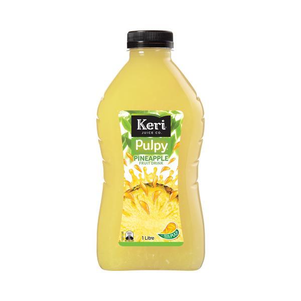 Keri Fruit Drink Pulpy Pineapple 1l