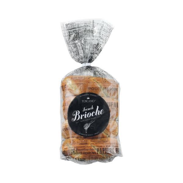 Toscano Bread Rolls Classic French Brioche 280g