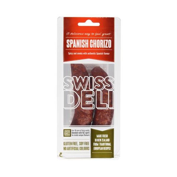 Swiss Deli Chorizo Spanish 210g
