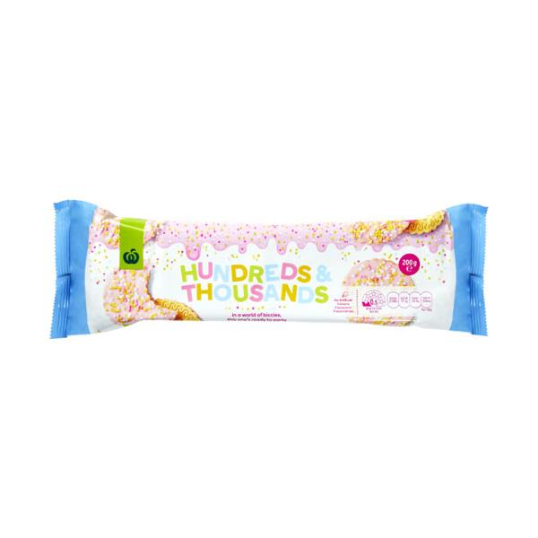 Countdown Biscuits Hundreds & Thousands 200g