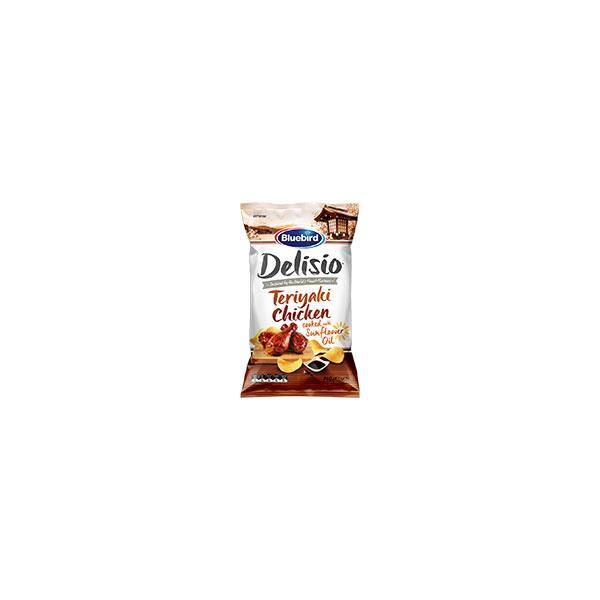Bluebird Delisio Potato Chips Teriyaki Chicken 140g