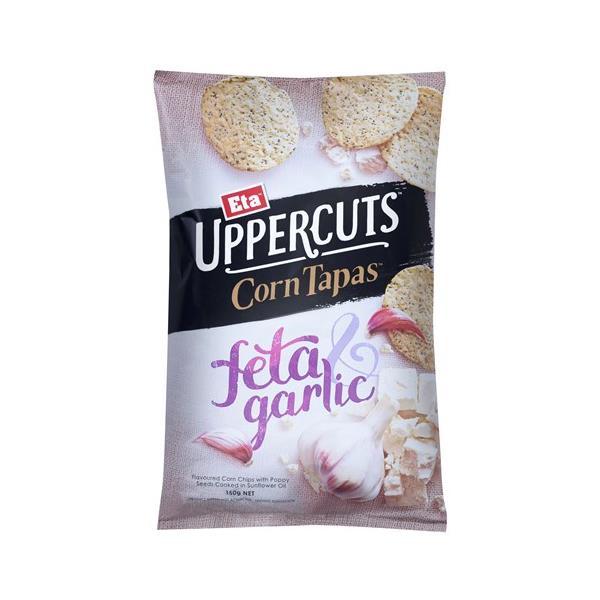 Eta Upper Cuts Corn Tapas Garlic & F 150g