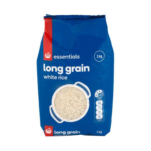Essentials Long Grain Rice 1kg