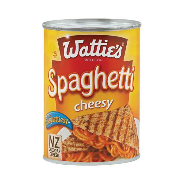 Wattie's Spaghetti Extra Cheesy 420g