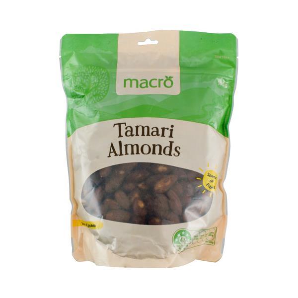 Macro Almonds Tamari 500g