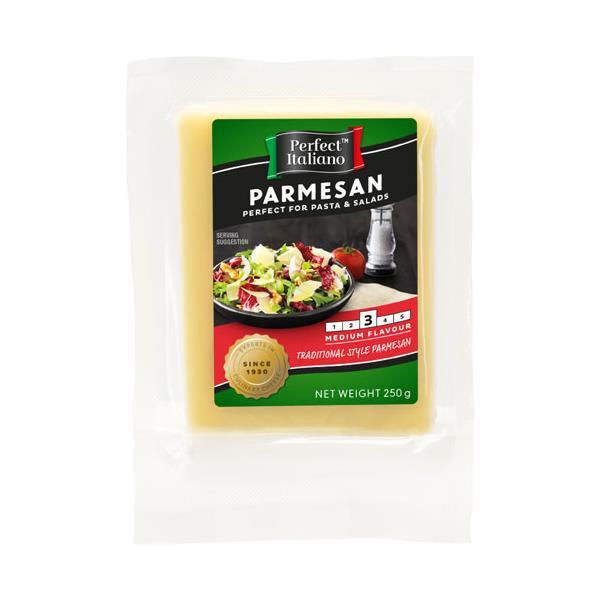 Perfect Italiano Hard Cheese Parmesan Block 250g