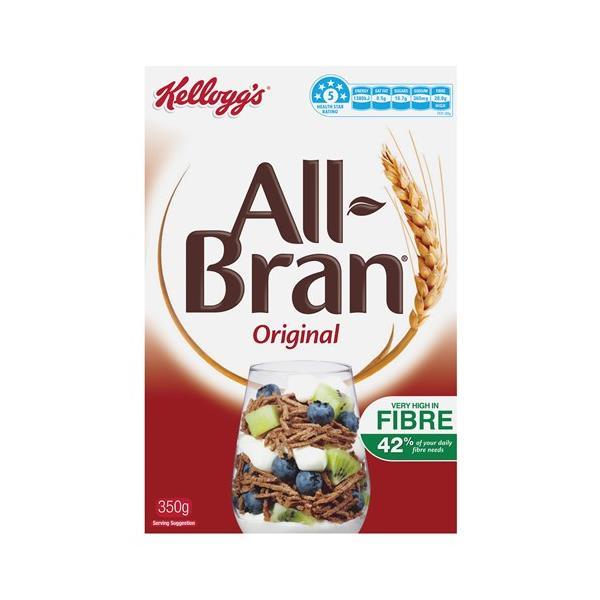 Kelloggs All Bran Cereal Original 350g