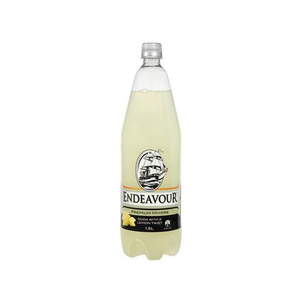 Endeavour Soft Drink Soda With A Twist Of Lemon 1.5l