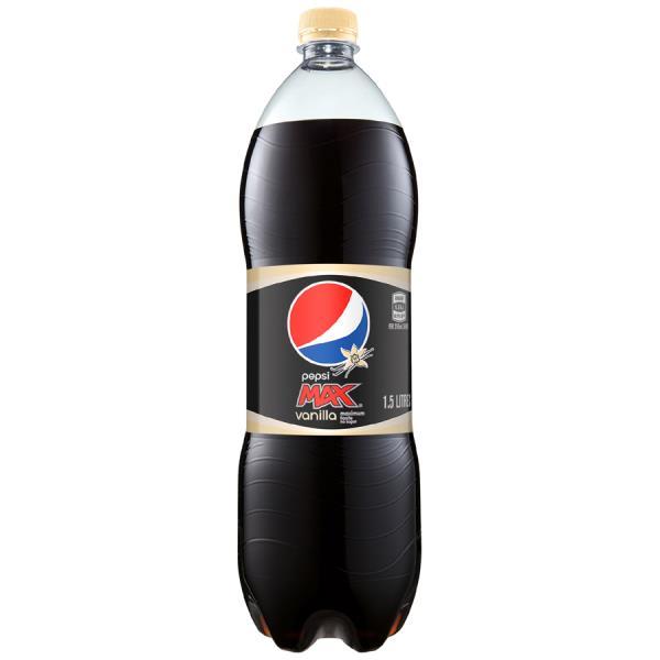 Pepsi Max Soft Drink Vanilla 1.5l