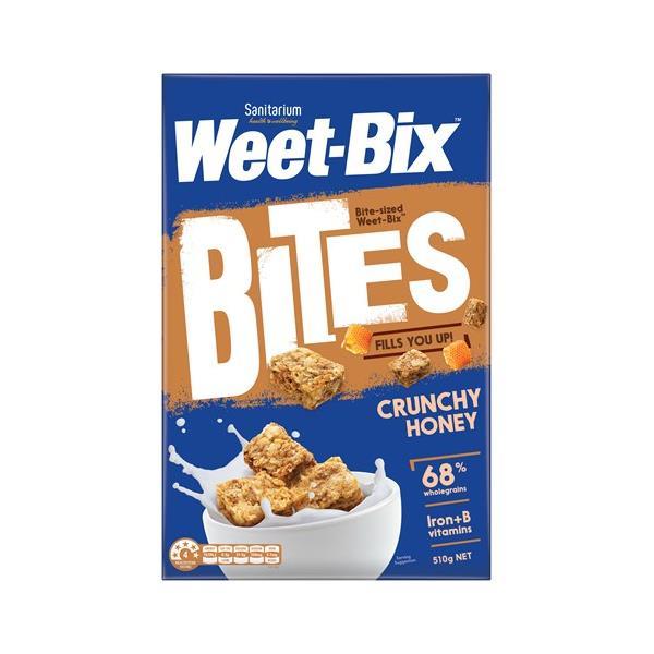Sanitarium Weetbix Bites Wheat Biscuits Honey 510g
