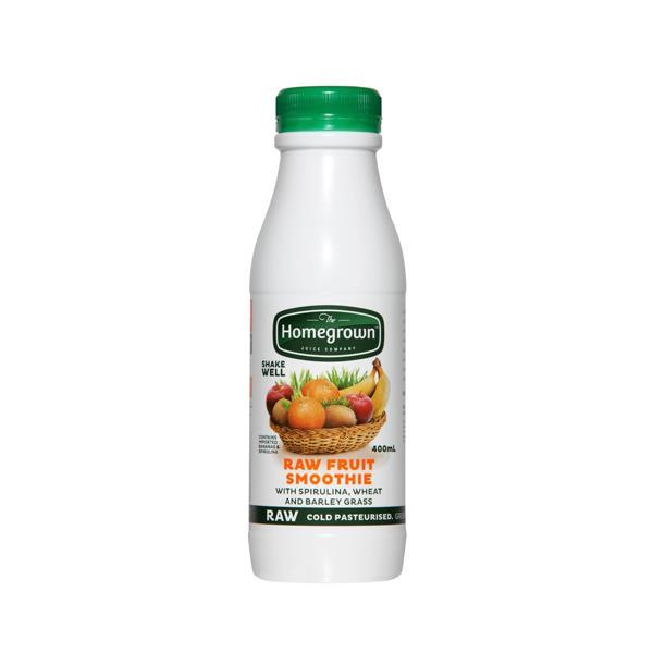 Homegrown Smoothie Raw Fruit 400ml