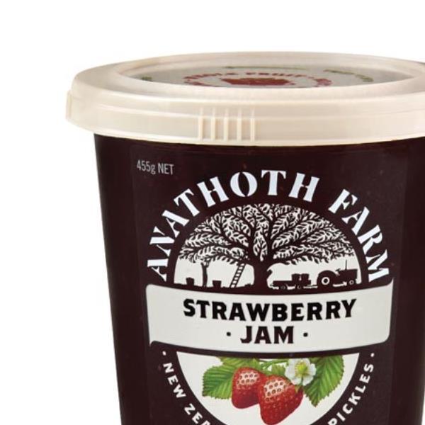 Anathoth Farm Strawberry Jam 455g