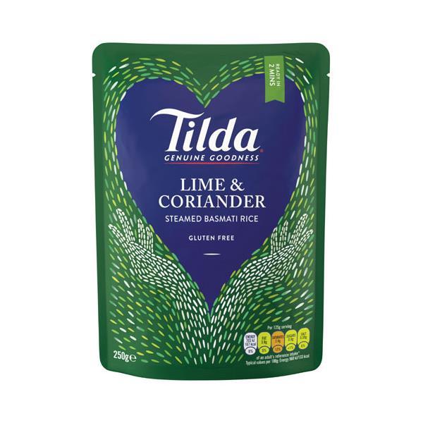 Tilda Basmati Rice Lime & Coriander 250g