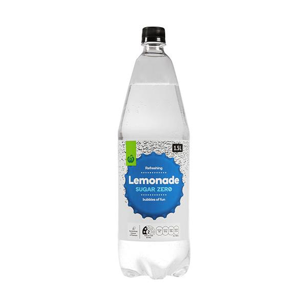 Countdown Soft Drink Lemonade Zero Sugar 1.5l
