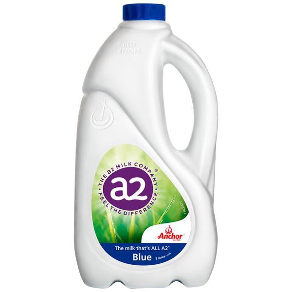 Anchor A2 Milk Standard Blue Top 2l
