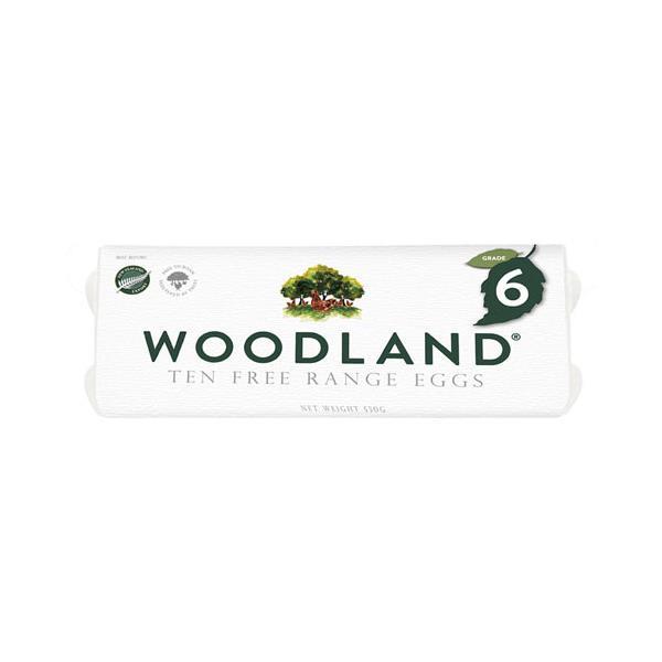 Woodland s Eggs 10pk Free Range Size 6 530g