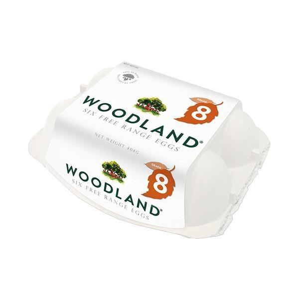 Woodlands Free Range Jumbo 408g (6pk)