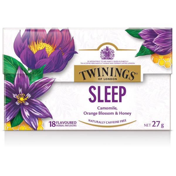 Twinings Sleep Camomile, Orange Blossom & Honey 27g (18ea)