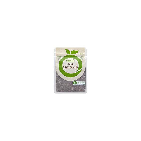 Macro Chia Seeds Black 350g