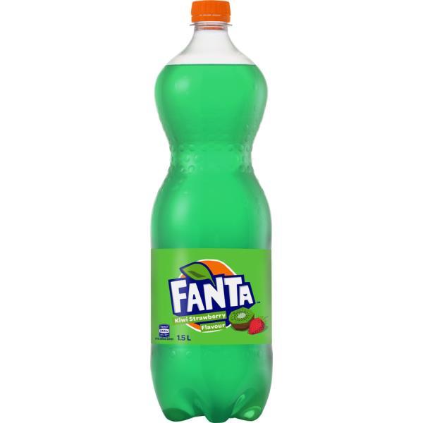 Fanta Soft Drink Kiwi Strawberry 1.5l