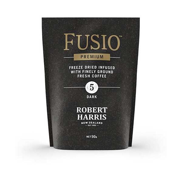 Robert Harris Fusio Instant Coffee Dark Roast refill 90g