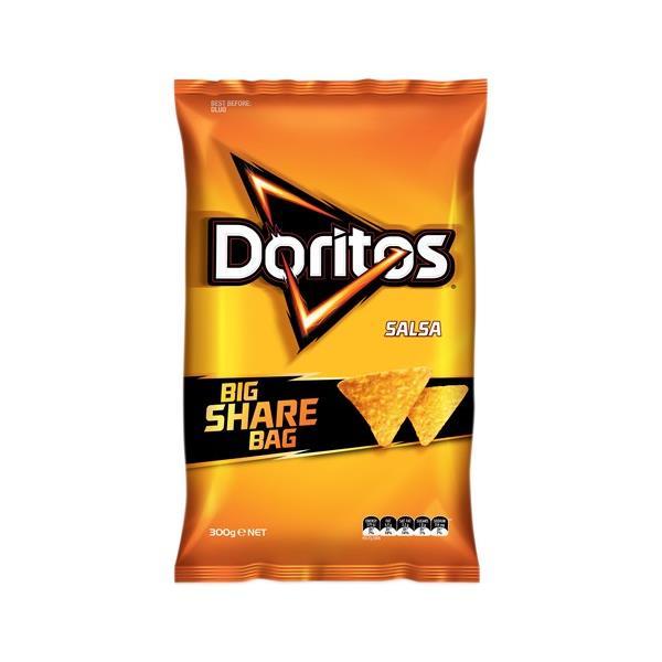 Doritos Corn Chips Salsa Party Bag 300g