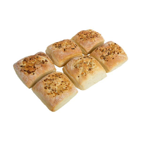 Countdown Instore Bakery Ciabatta Garlic & Herb Pockets 6pk