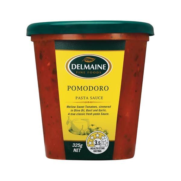 Delmaine Pomodoro Pasta Sauce 325g
