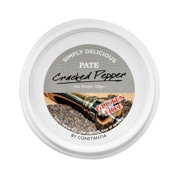 Constantia Pate Cracked Pepper 100g