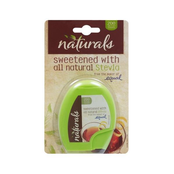 Naturals Sugar Substitute Stevia tablets 200pk