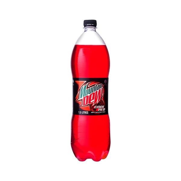 Mountain Dew Soft Drink Code Red 1.5l