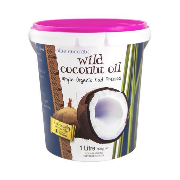 Blue Coconut Coconut Oil Wild Virgin Organic 1l