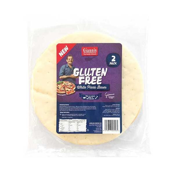 Giannis Pizza Bases Gluten Free 2pk