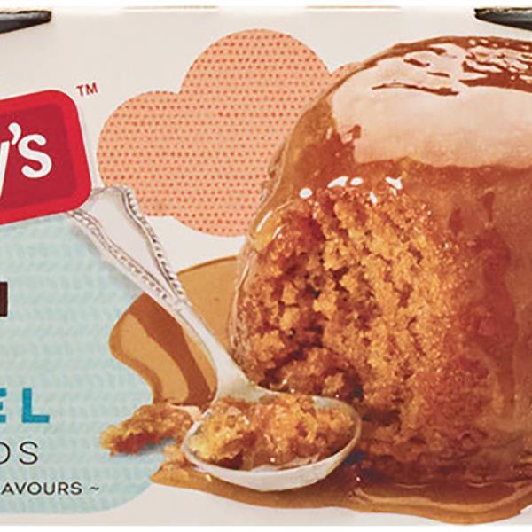 Aunt Betty's Aunt Bettys Gluten Free Steamed Pudding Caramel 190g (95g x 2pk)