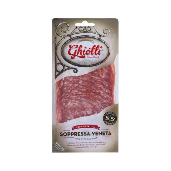 Ghiotti Salami Sliced Soppressa Venetta 70g