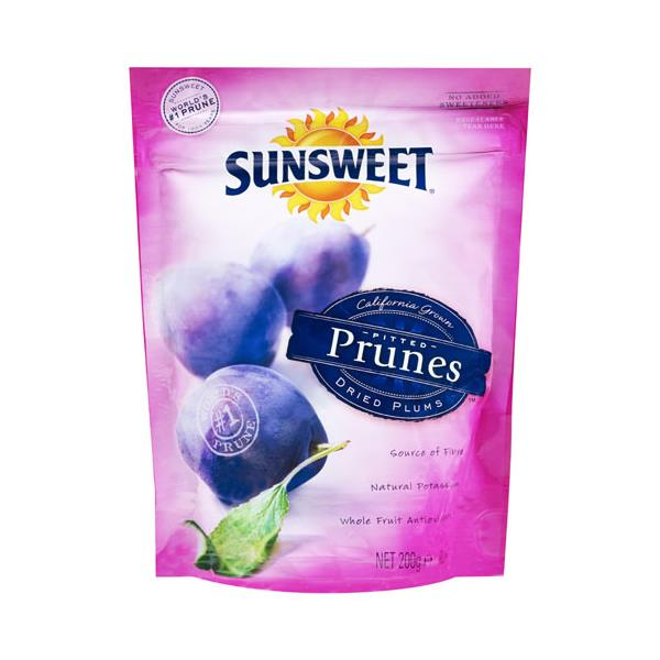 Sunsweet Prunes Pitted 200g