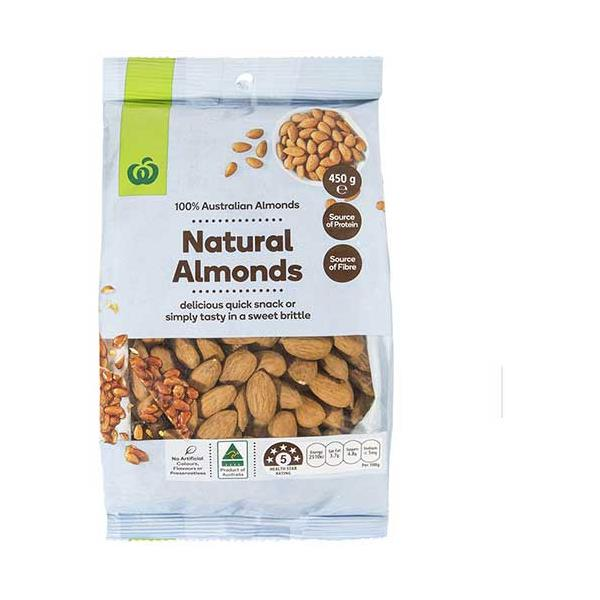Countdown Almonds Natural 450g