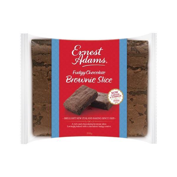 Ernest Adams Slices Chocolate Fudge Brownie 350g