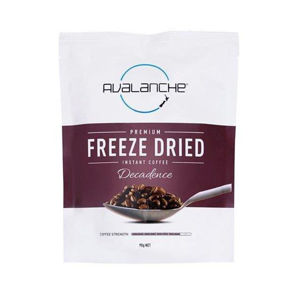 Avalanche Instant Coffee Espresso Freeze Dried refill 90g