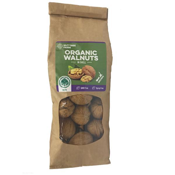 Fresh Produce Walnuts Organic In Shell 300g