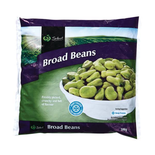 Select Beans Broad Frozen bag 500g