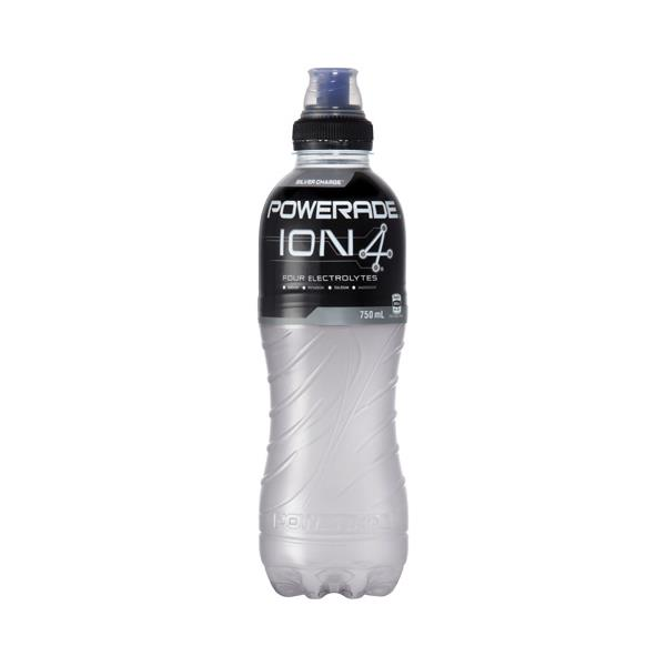 Powerade Sports Drink Silver Charge 750ml