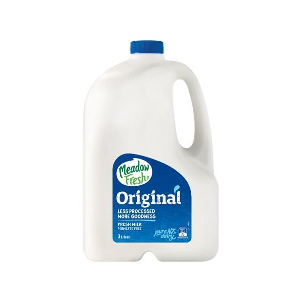 Meadow Fresh Milk Standard Original 3l