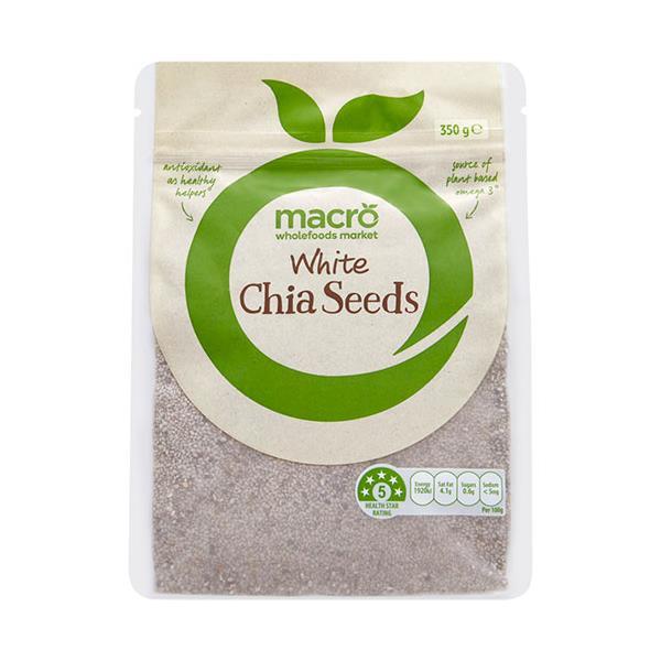 Macro Chia Seeds White 350g
