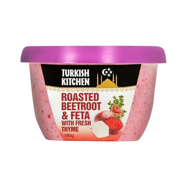 Turkish Kitchen Hummus Roasted Beetroot & Feta 180g