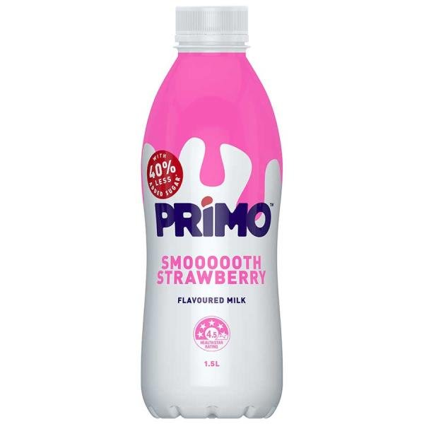 Primo Flavoured Milk Strawberry 1.5l