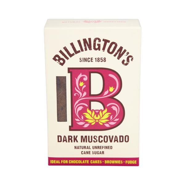 Billington's Billingtons Muscovado Sugar Natural Dark pkt 500g