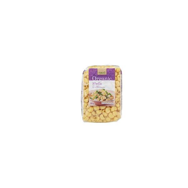 Macro Organic Pasta Shells 500g