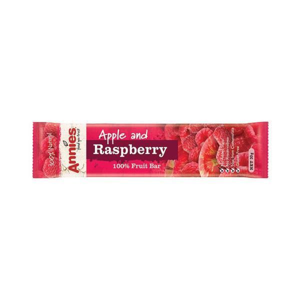 Annies Fruit Bars Apple & Raspberry 30g