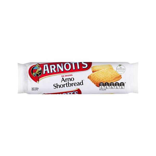Arnott's Arno Shortbread 250g